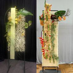 Modern Floral Arrangements, Creative Flower Arrangements, Ikebana Arrangements, Modern Floral Design, Corporate Flowers, High Art, Arte Floral, Flower Show, Types Of Flowers