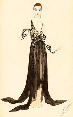 Erte c. 1917