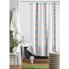 Calliope Cotton Shower Curtain | The Company Store