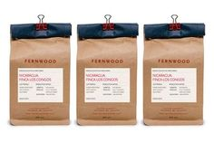 Fernwood Coffee packaging