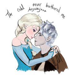 Jelsa by carlabilbrey on Pinterest | Jelsa, Jack Frost and Elsa