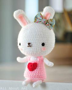 Sweetheart bunny free pattern
