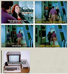 Banner and Romanoff deleted scene   If you don't know what a Commodore 64 or an Amiga 2000 is, don't speak to me. We're not friends anymore. Lol