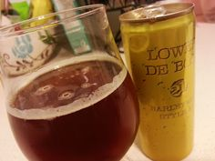 21st Amendment Brewery Lower de Boom.  Follow the hyperlink to read my tasting notes on this barleywine!