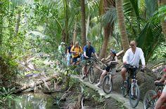 Fahrrad-Tour in der Umgebung von Bangkok: Es gibt viel zu entdecken.