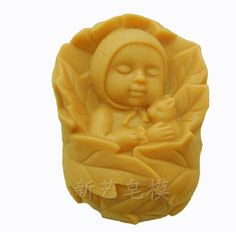 Grainrain Soap Mold Soap making Tools Diy Craft Candle Mould Silicone Molds Baby * You can find out more details at the link of the image.