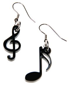 Tatty Devine Music Note Earrings