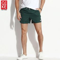 #FASHION #NEW Board shorts men swimwear solid beach surf bermudas swimming trunks male liner bathing suits drawstring quick dry swimsuits…