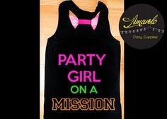 ¡Playera personalizada! <3 https://www.kichink.com/buy/416723/amarelo-party-supplies/playera-party-girl