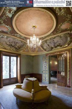 Salón del palacio Bauer.