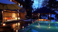 Konsep Luxury Beach Resort