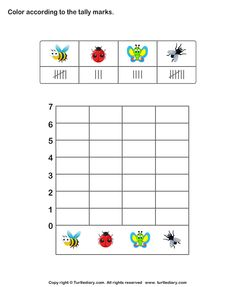 math worksheet : read and interpret a tally chart  data analysis  pinterest  charts : Pictograph Worksheets For Kindergarten