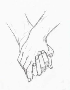 Holding hands by silouxa drawing tips, drawing sketches, pencil drawings, sketches of people Easy Pencil Drawings, Art Drawings Sketches, Love Drawings, Drawings For Boyfriend, Boyfriend Pictures, Holding Hands Drawing, Drawing Hands, Romantic Drawing, Art Du Croquis