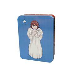 Nw Belle & Boo Angel medium rectangular tin - in stock now!