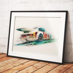 One of our favourite pieces from our newest artist, Porsche 911 RSR limited edition print for sale on our website. . #autoart #automotivedaily #automotiveart #automotiveartwork #lazenbyvisuals #motorart #artonline #illustrationdaily #digitalcarartists #porscheart #porscheartdaily #porscheposter #porscheartwork #911art #porsche911rsr #cafemexicano #cafemexicanoporsche #porschesketch #porscheclassicclub #porscheclassic Porsche 911 Rsr, Porsche Classic, Art For Sale Online, Automotive Art, Limited Edition Prints, Poster, Website, Gallery, Frame