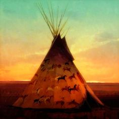 Love the horse paintings. Native American Teepee, Native American History, Native American Indians, Canvas Photo Transfer, Photo Canvas, Black Panthers, Deadpool, Kindle Unlimited, Face Lines