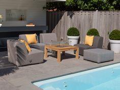 PEBBLE BEACH Lounge Garten Sofa #garten #gartenmöbel #gartensofa  #gartenlounge #loungegruppe #sitzgruppe #gartensessel #modulsofu2026