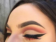 Find images and videos about beauty, makeup and eyeshadow on We Heart It - the app to get lost in what you love. Pretty Makeup, Love Makeup, Makeup Inspo, Makeup Art, Makeup Inspiration, Beauty Makeup, Makeup Ideas, Matte Eyeshadow, Eyeshadow Looks
