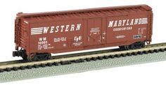 What a great addition this Western Maryland 50' PD box car will be to your N Scale collection. It will look great on your N Scale layout not to mention how it will fit in with the rest of your rolling stock.  Click http://www.livelocomotion.com/product/BAC71087 to get your box car today for $14.50.