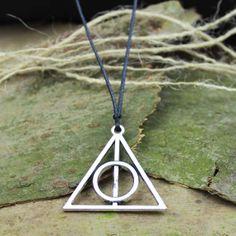 Men necklaceHarry Potter Necklace charm necklace by menbracelet, $1.99