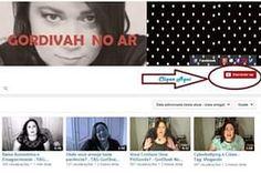 """Já se inscreveu no nosso canal #GorDivah No ar lá  no YouTube? É muito fácil! Logue em sua conta no google acesse o link abaixo e clique em """"Inscrever-se"""" http://youtube.com/c/gordivahnoar/  Link clicável na bio! #youtubergorda  #fatyoutuber"""
