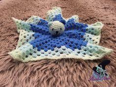 crochet little bear cuddle blanket for baby