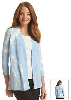 Laura Ashley Tie Dye Embellished Cardigan on shopstyle.com.au