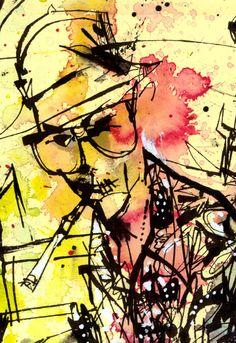 Mixed Media | JimMahfood.com: Visual Funk Art Destruction from artist Jim Mahfood aka Food One