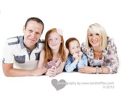 Modern Family Studio Photography