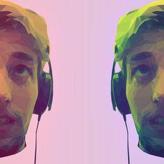 Low Poly Art of me, myself and I