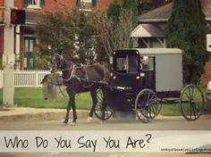 There is one thing about living in the Amish community: you know who ...