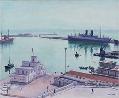 Albert Marquet - Port d'Alger (1941)