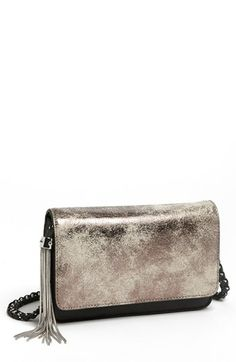 Love the chain tassel zipper puller! Aimee Kestenberg 'Alexis' Crossbody Bag available at #Nordstrom