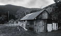 A house in the Carpathian Mountains.