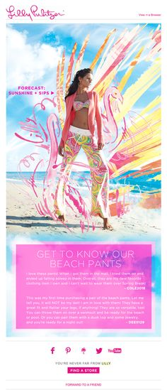 Lilly Pulitzer: Our favorite pull-on pant...