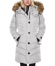 Look what I found on #zulily! Light Ash Brandy Parka #zulilyfinds