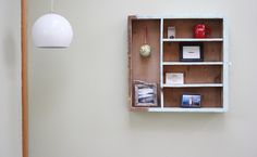 Old Drawer Shelf via Morning Creativity | CreateForLess Tumblr