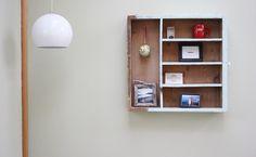 Old Drawer Shelf via Morning Creativity   CreateForLess Tumblr
