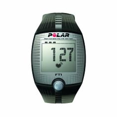 Polar Ft1 Heart Rate Monitor, Black by Champion. $40.69. Amazon.com                 Polar FT1 Heart Rate Monitor Stay on track and optimize your workout with Polar's FT1 Heart Rate Monitor. This compact, convenient, and easy to use, heart rate monitor watch displays vital workout data on an easy to read digital display. When your workout is complete, the FT1 offers regular watch features including date and day, 12/24-hour clock, and a backlight. The Polar FT1 comes w...