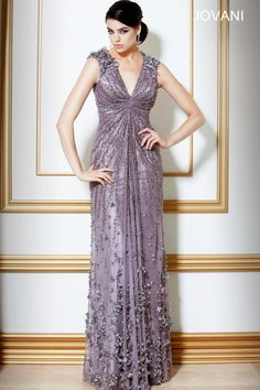 This would be a nice maid of honour dress. Jovani 7434 :: Art Deco 1920's Great Gatsby bridesmaids dress