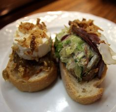Madrid Spain Food & Travel Blog - My Kiki Cake -Cheese & Caesar Pintxos at San Miguel Mercado