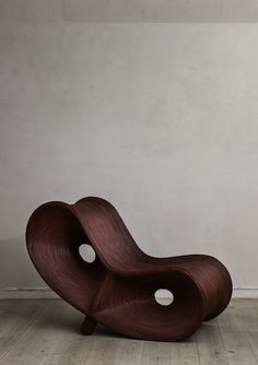 """""""Italian chair"""" from the 1950's made of rattan."""