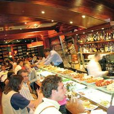 Cervesaria Catalana in Barcelona, the best tapas ever, possibly one of the best restaurants ever!