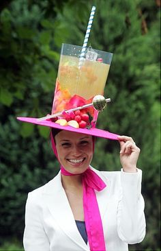 Derby hat idea for those who like to make their own.