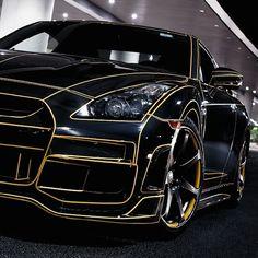"@exotic_performance's photo: ""TRON Nissan GT-R Follow @GTR_motorsports |Photo:AlexMXY| _________________________________"""