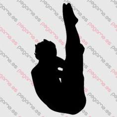 Pegame.es Online Decals Shop  #sport #jump #acrobatic #swimming #vinyl #sticker #pegatina #vinilo #stencil #decal