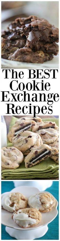 the best cookie exchange recipes xmas cookies cookies best bake sale cookies candy