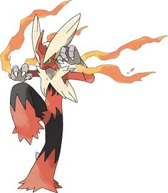 Mega Blaziken - With its high Attack stat and the Speed Boost Ability, Mega Blaziken will become a truly awe-inspiring opponent! Blazikenite, the item needed to Mega Evolve Blaziken, cannot be obtained through normal gameplay in Pokémon X or Pokémon Y. Pokemon Alpha, Pokemon Omega Ruby, Pokemon X And Y, Mega Pokemon, Type Pokemon, Play Pokemon, Cool Pokemon, Pokemon Fusion, Pokemon Dragon