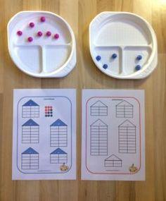 Aktive Zahlenzerlegung | grundschulteacher Grundschul Teacher, Number Talks, Cycle 2, School Life, Kindergarten Math, Montessori, Teaching, Education, Ferrero Rocher