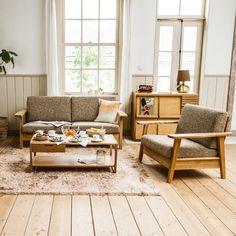ジェラール ウッドフレームソファー Gerard wood frame SOFA - リグナセレクションのソファ通販 | リグナ東京
